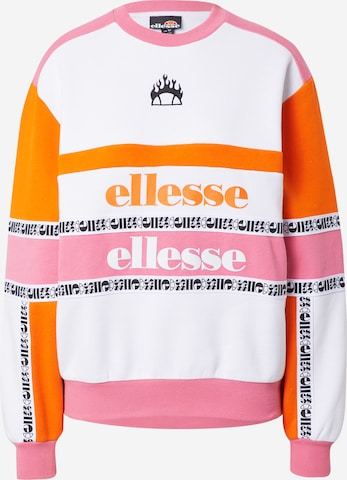 About You x Ellesse Sweatshirt 'Aylo' in White