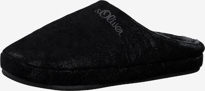 s.Oliver Hausschuh in schwarz, Produktansicht