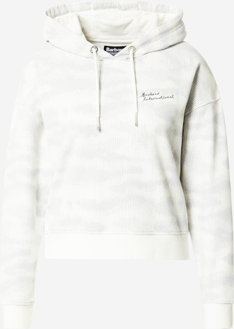 Barbour International Sweatshirt in Weiß