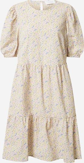 SISTERS POINT Kleid 'VILKA' in beige / rauchblau / gelb / puder, Produktansicht