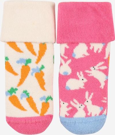 Happy Socks Skarpety w kolorze jasnoniebieski / pomarańczowy / różowy / białym, Podgląd produktu