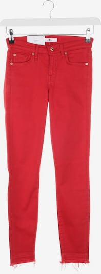 7 for all mankind Jeans in 26 in rot, Produktansicht
