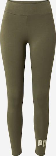 PUMA Leggings en olive / vert pastel, Vue avec produit