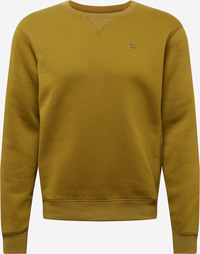 Bluză de molton G-Star RAW pe oliv, Vizualizare produs