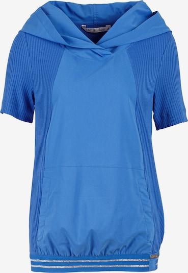 HELMIDGE Kurzarmbluse in blau, Produktansicht