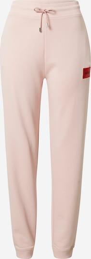HUGO Pantalon 'Dachibi' en rose / rouge / noir, Vue avec produit