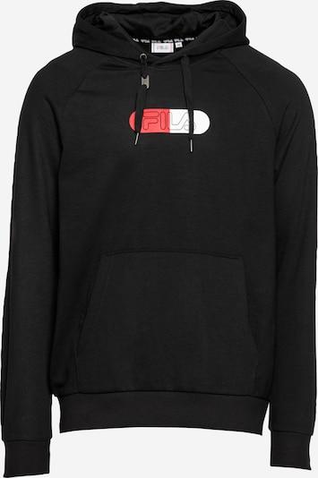 FILA Sweat de sport 'JALON' en rouge / noir / blanc, Vue avec produit