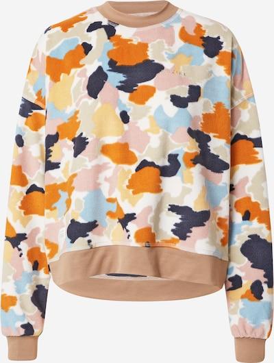 mazine Sweatshirt 'Ottawa' in hellblau / dunkelblau / hellbraun / rosa / weiß, Produktansicht