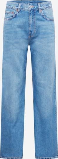 WEEKDAY Jeans en blue denim, Vue avec produit