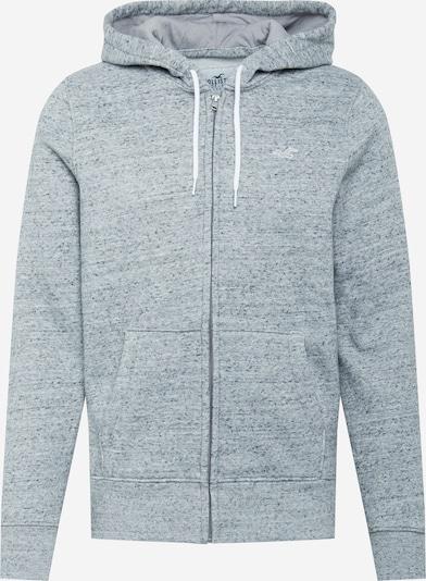 HOLLISTER Tepláková bunda - sivá melírovaná, Produkt