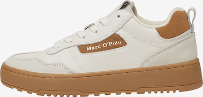 Marc O'Polo Sneakers in Brown / natural white, Item view