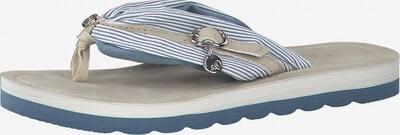 s.Oliver Žabky - svetlomodrá / biela, Produkt
