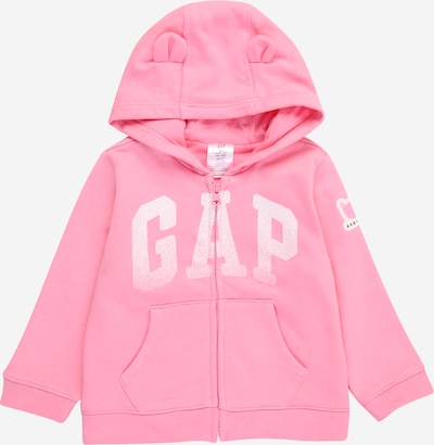 GAP Sweatvest 'ARCH' in de kleur Pink / Wit, Productweergave