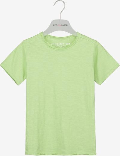 Key Largo T-Shirt 'BT BREAD' in grün, Produktansicht