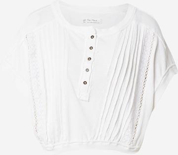 Free People Shirt 'ROXY' in Wit