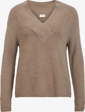 VILA Pullover 'Madelia' in Beige
