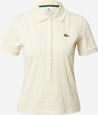 LACOSTE Shirt in de kleur Beige, Productweergave