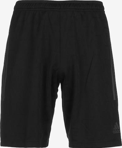 ADIDAS PERFORMANCE Sportbroek in de kleur Grijs gemêleerd / Zwart, Productweergave