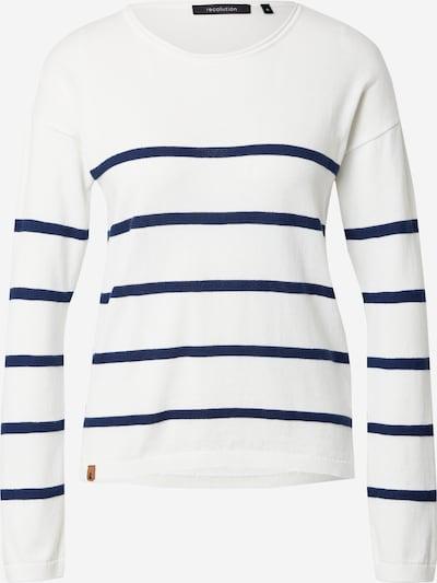 recolution Trui in de kleur Navy / Wit, Productweergave