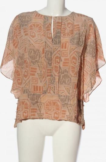 Noa Noa Kurzarm-Bluse in XL in nude / hellgrau / hellorange, Produktansicht