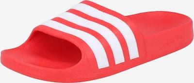 ADIDAS PERFORMANCE Badeschuh in rot / weiß, Produktansicht