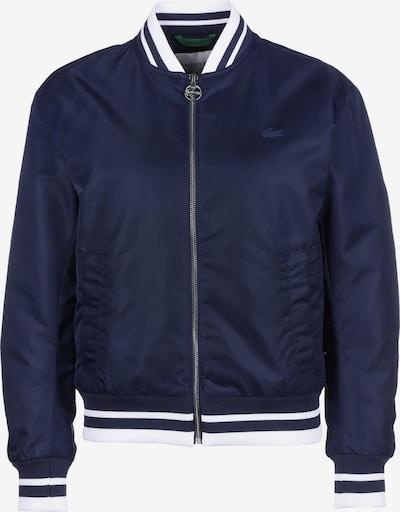 LACOSTE Jacke 'Sportswear' in blau / weiß, Produktansicht