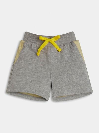 GUESS Shorts in pastellgelb / graumeliert / schwarz, Produktansicht