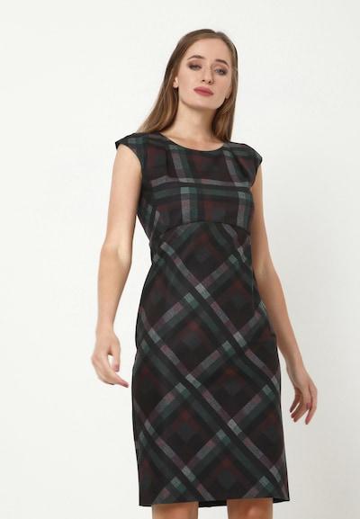 Madam-T Kleid 'MUTALA' in mischfarben, Modelansicht