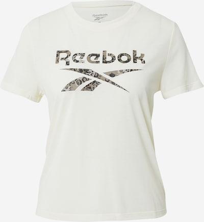 REEBOK T-shirt fonctionnel 'Safari' en gris / noir / blanc, Vue avec produit