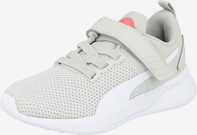 PUMA Sports shoe 'Flyer Runner V' in Light grey / White, Item view