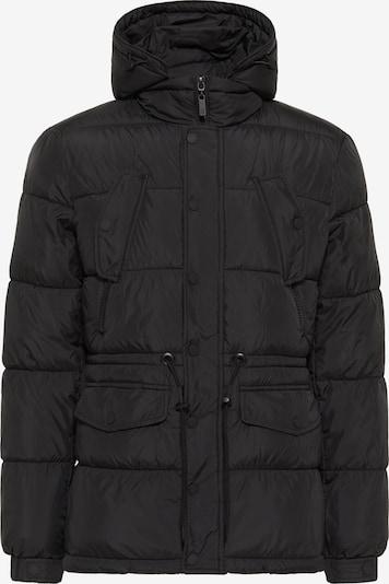 TUFFSKULL Veste d'hiver en noir, Vue avec produit