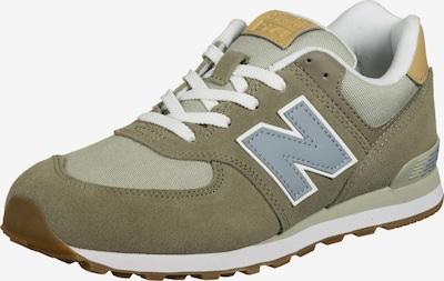 new balance Sneaker in hellgrau / oliv, Produktansicht