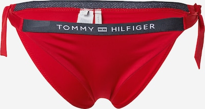 TOMMY HILFIGER Долнище на бански тип бикини в нейви синьо / червено / бяло, Преглед на продукта