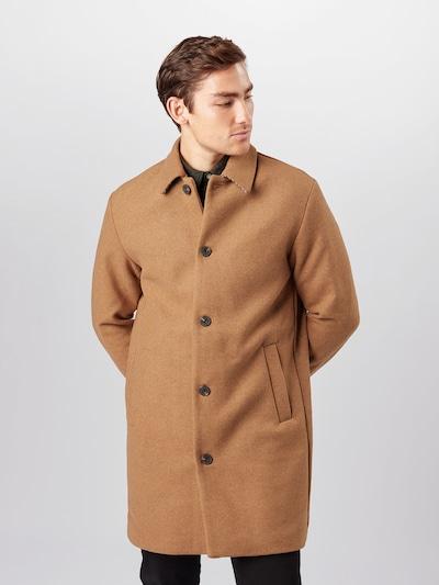 JACK & JONES Abrigo de entretiempo en marrón claro, Vista del modelo