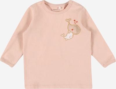 Tricou 'FELIZIA' NAME IT pe bej / roz / roșu / alb, Vizualizare produs
