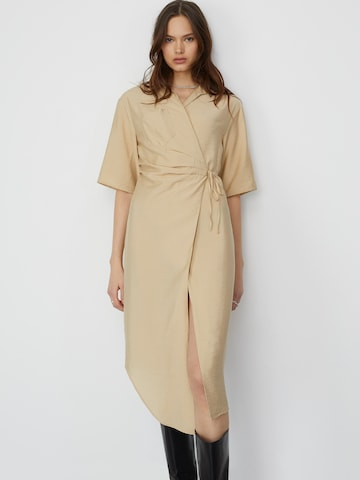 LeGer by Lena Gercke Dress 'Cleo' in Beige