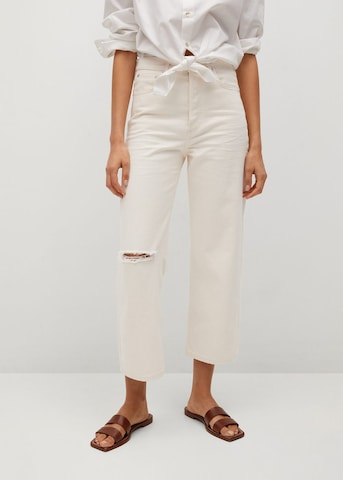 MANGO Jeans 'Gabriela' in Beige