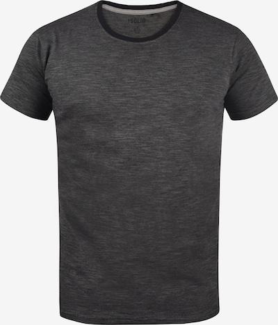 !Solid Rundhalsshirt 'Ned' in schwarz, Produktansicht