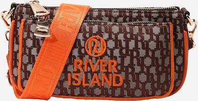 River Island Umhängetasche in braun / orange, Produktansicht