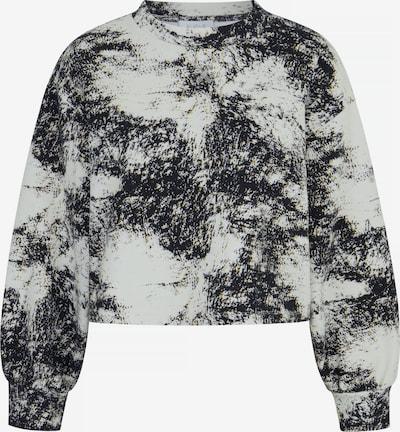Aligne Sweatshirt 'Barushka' in de kleur Mosterd / Grafiet / Offwhite, Productweergave