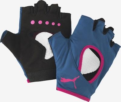 PUMA Sporthandschoenen in de kleur Blauw / Zwart, Productweergave