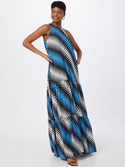 Essentiel Antwerp Kleid 'Zuwu' in blau / schwarz / weiß, Modelansicht