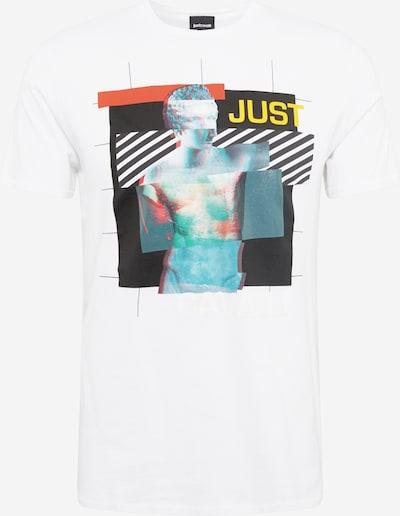 Just Cavalli T-Shirt 'S01GC0659' en mélange de couleurs / blanc, Vue avec produit