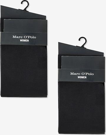 Marc O'Polo Bodywear Tights ' 2-Pack Black Fashion ' in Black