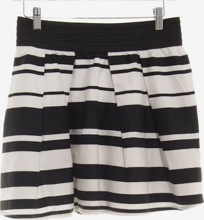 Jane Norman Minirock in L in schwarz / weiß, Produktansicht