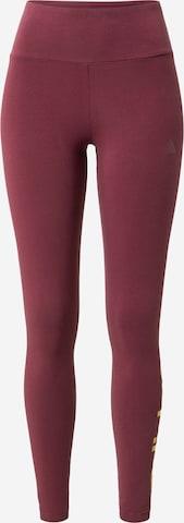ADIDAS PERFORMANCE Spodnie sportowe w kolorze czerwony