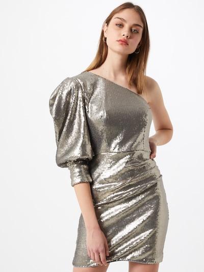 Chi Chi London Kleid 'Addie' in grau, Modelansicht