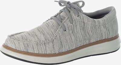 Pantofi cu șireturi RIEKER pe bej amestecat / gri, Vizualizare produs