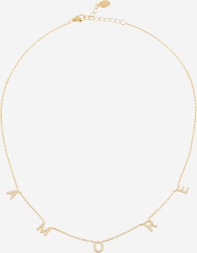 OHH LUILU Cadena 'Amore' en oro / blanco, Vista del producto