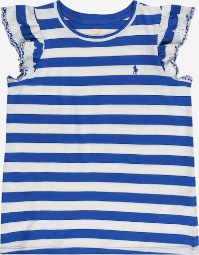 POLO RALPH LAUREN Shirt in blau / weiß, Produktansicht